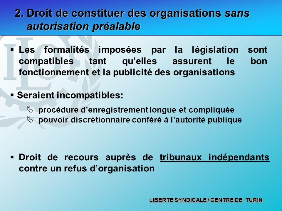 LIBERTE SYNDICALE / CENTRE DE TURIN 2.