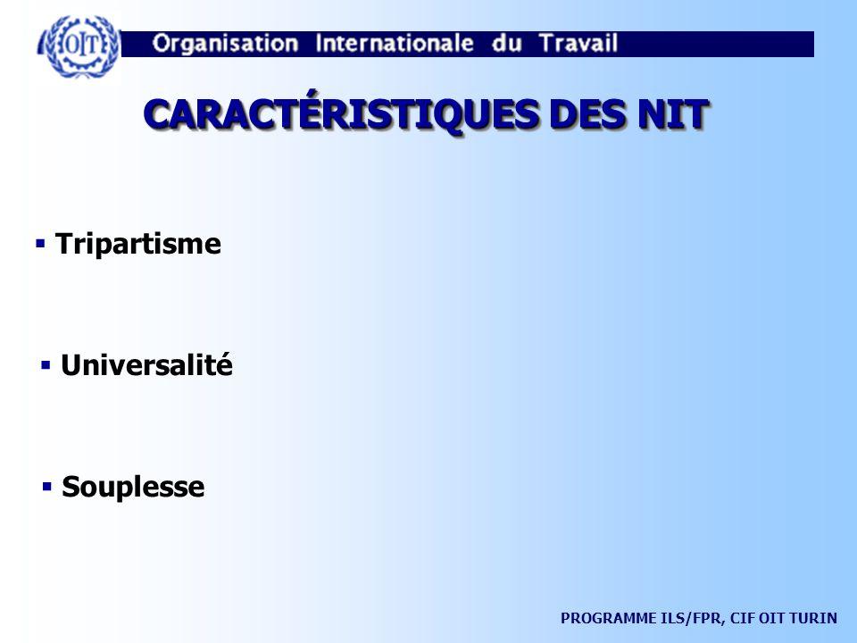 PROGRAMME ILS/FPR, CIF OIT TURIN PROCÉDURES SPÉCIALES DE CONTRÔLE Réclamations (Artt.