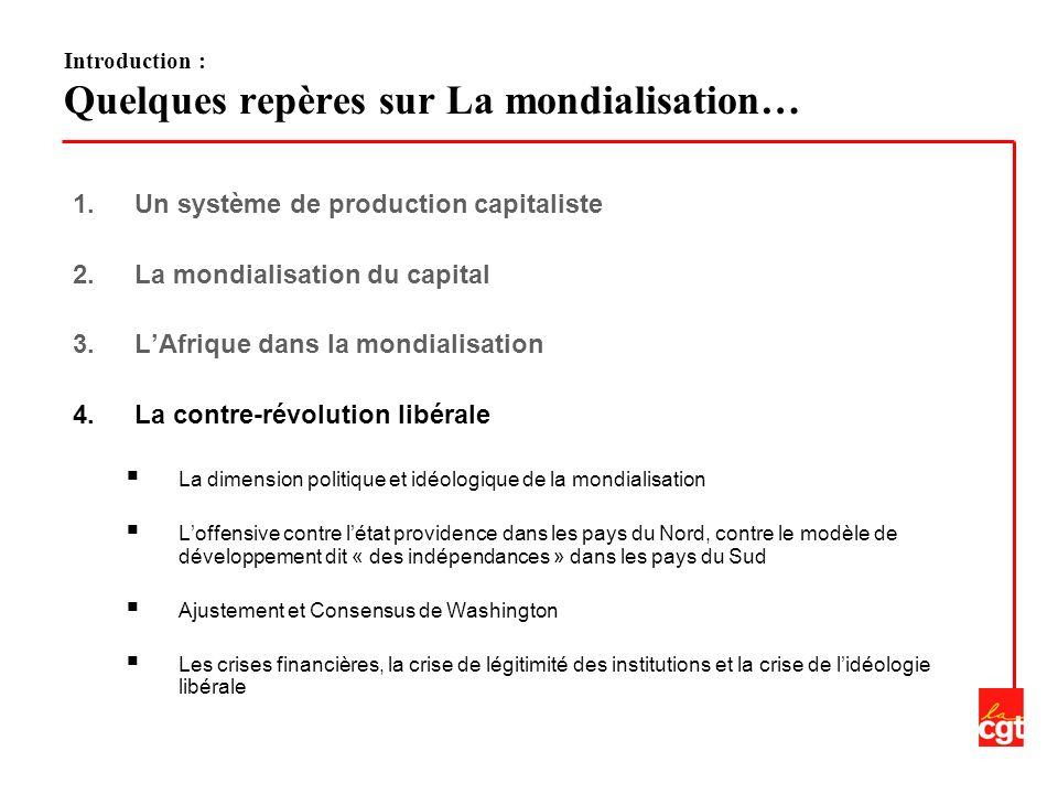1.Un système de production capitaliste 2.