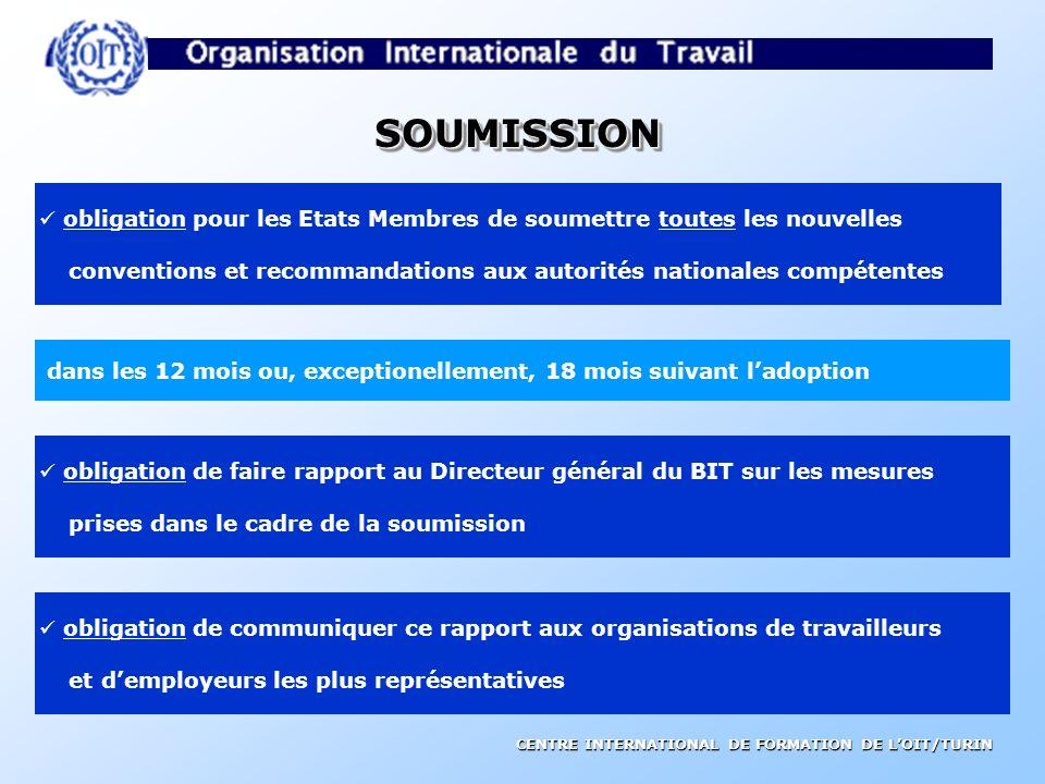 CENTRE INTERNATIONAL DE FORMATION DE LOIT/TURIN PROCEDURE DE DOUBLE DISCUSSION Conseil dadministration Problème identifié par travailleurs, employeurs