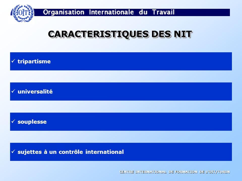 CENTRE INTERNATIONAL DE FORMATION DE LOIT/TURIN Les Normes Internationales Du Travail traités internationaux si ratifiées, créent des obligations juri