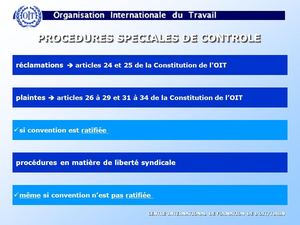 CENTRE INTERNATIONAL DE FORMATION DE LOIT/TURIN PROCEDURE DE CONTROLE REGULIER COMMISSION DEXPERTS POUR LAPPLICATION DES CONVENTIONS ET RECOMMANDATIONS Demandes directes envoyées aux gouvernements et aux partenaires sociaux concernés COMMISSION TRIPARTITE DE LA CONFÉRENCE Présentation du rapport à la séance plénière de la CONFÉRENCE INTERNATIONALE DU TRAVAIL Informations et rapports des gouvernements 1er juin – 1er septembre juin novembre février Observations publiées dans son rapport Commentaires des partenaires sociaux BUREAU INTERNATIONAL DU TRAVIL mars