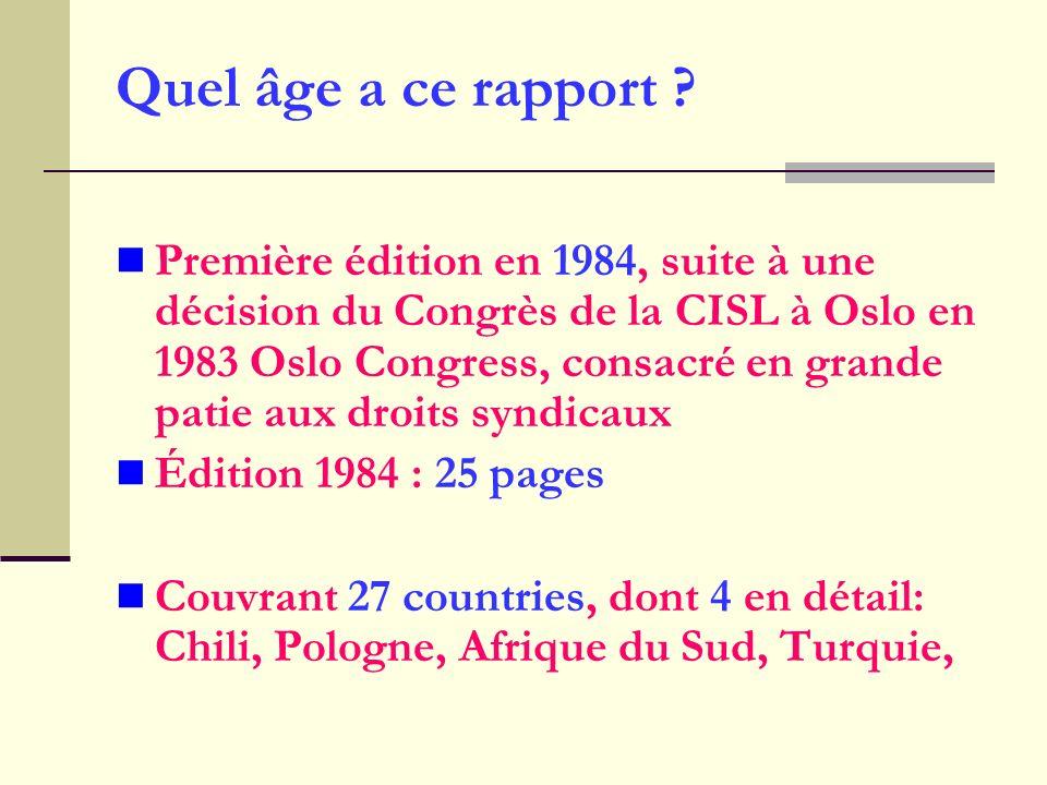 Quel âge a ce rapport .