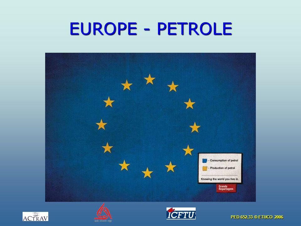 PED 652.33 © ETUCO 2006 EUROPE - PETROLE
