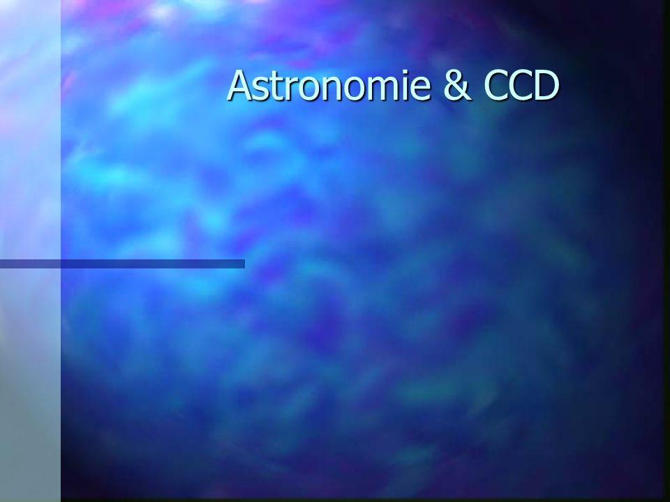 Les domaines d applications n astrométrie – Position des comètes pour calculs orbitaux n photométrie –Objet ponctuel étoile par rapport à hipparcos –Objet étendus ( comète, galaxie ) –Photométrie rapide (rotation d astéroïde)