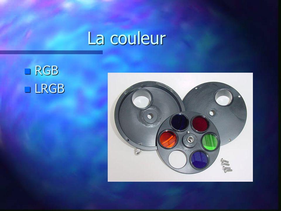 La couleur n RGB n LRGB