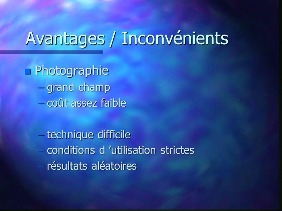 Les domaines d applications n survey –astéroïdes ( découvertes, calculs orbitaux, triangulation) –Supernova (découvertes) n spectro –moyenne résolution (étoile jusquà M 8) – haute résolution (Soleil).