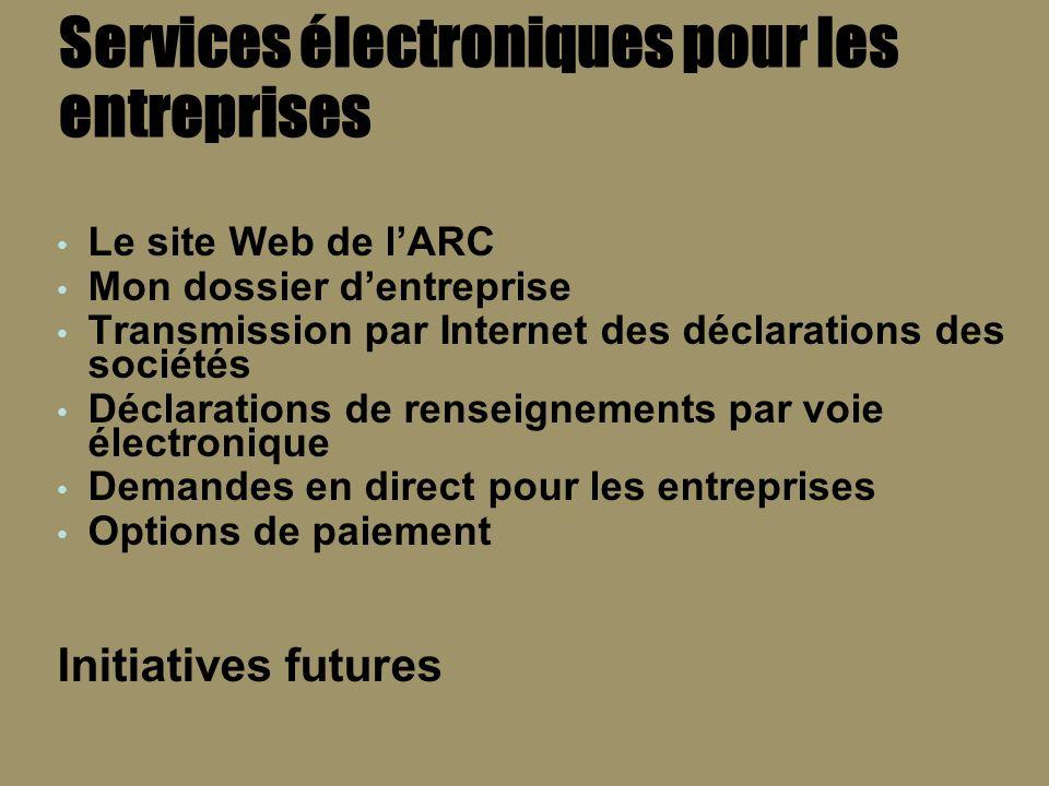 Le site Web de lARC