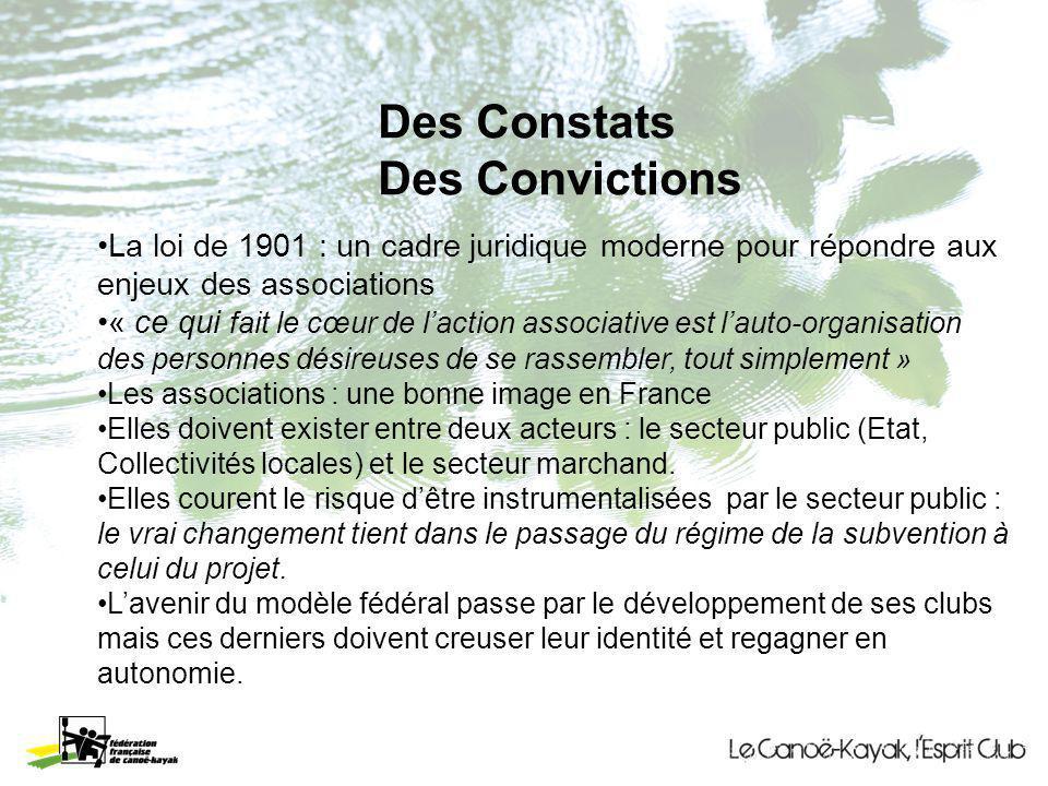 Des Constats Des Convictions La loi de 1901 : un cadre juridique moderne pour répondre aux enjeux des associations « ce qui fait le cœur de laction as
