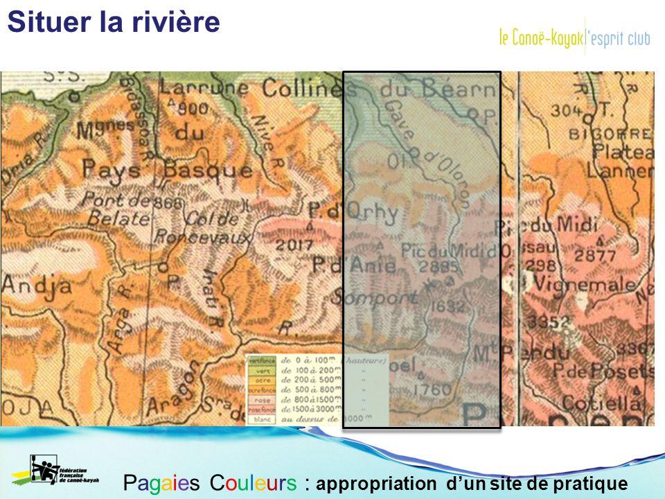 Le bassin versant et compréhension du débit : Le cycle de leau Pagaies Couleurs : appropriation dun site de pratique