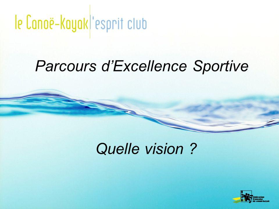 Parcours dExcellence Sportive Quelle vision ?