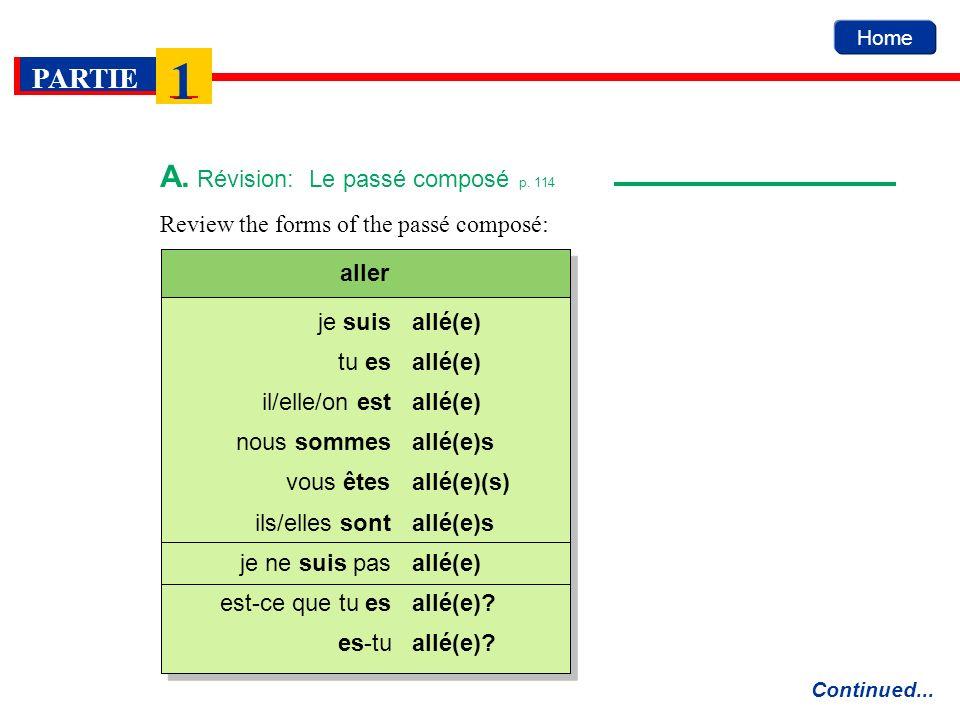 allé(e) allé(e)s allé(e)(s) allé(e)s allé(e) allé(e).