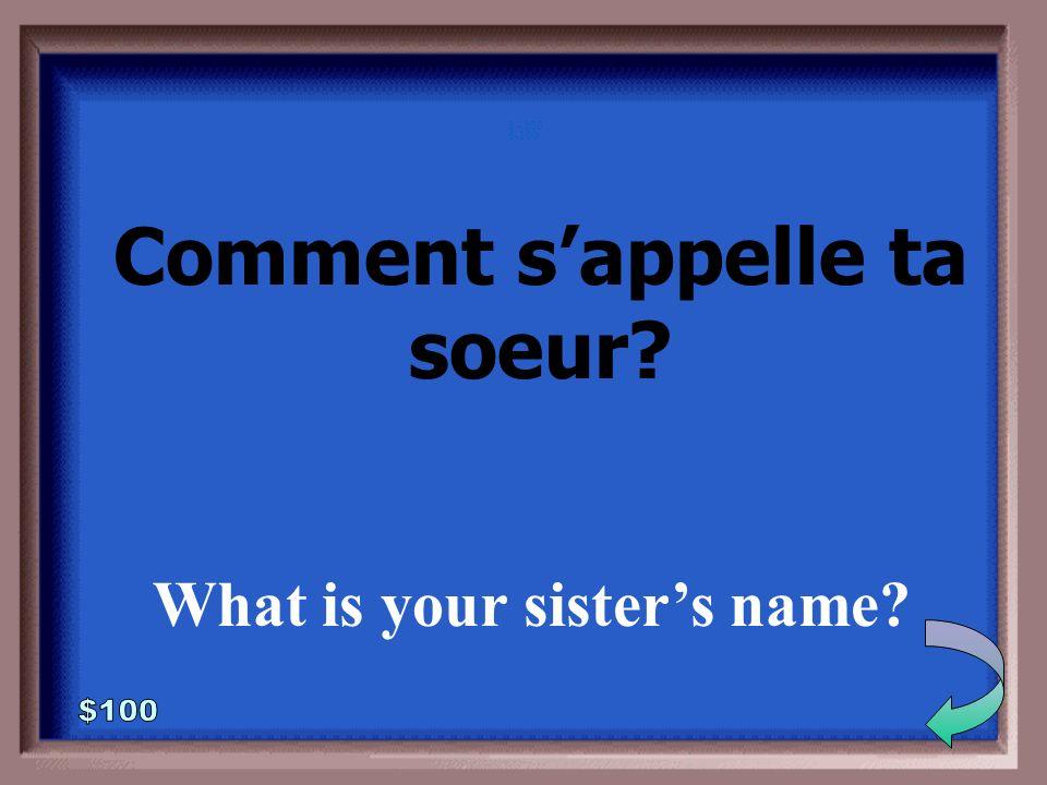 5-500 ça va? (you just lost your wallet) ça va très mal