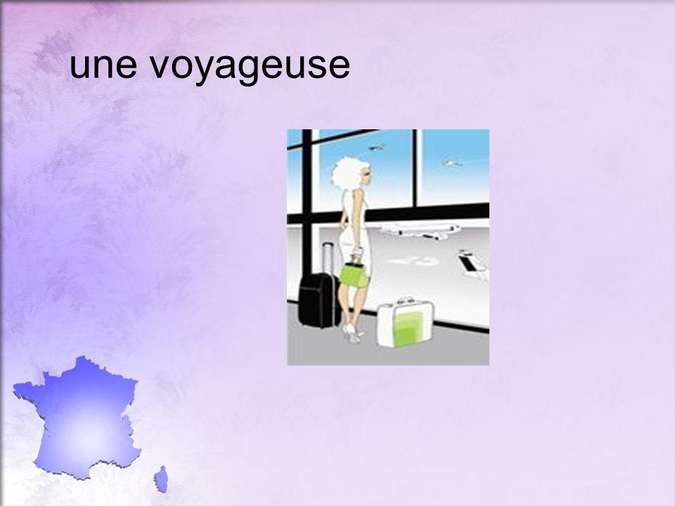 une voyageuse