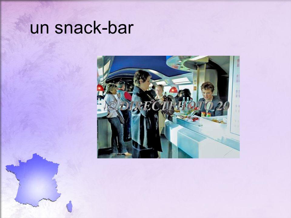 un snack-bar