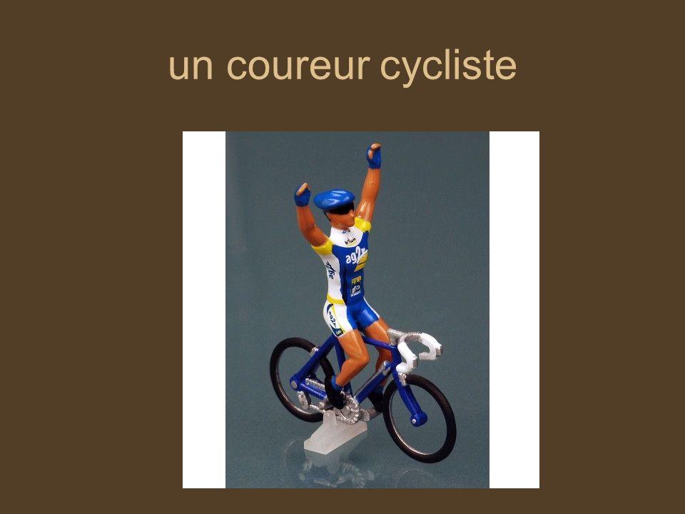 un coureur cycliste