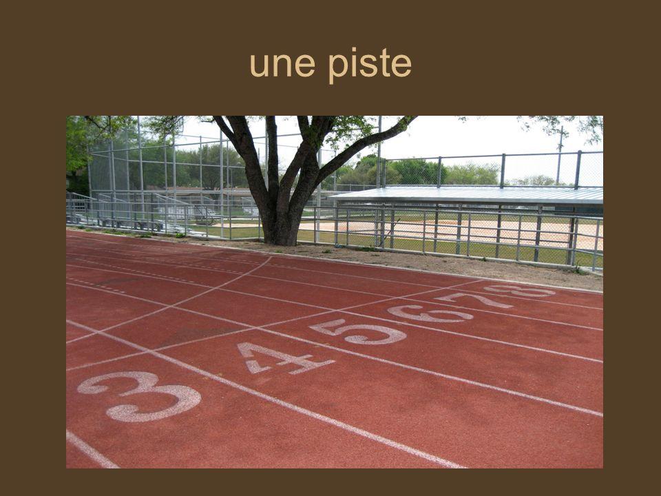 une coureuse