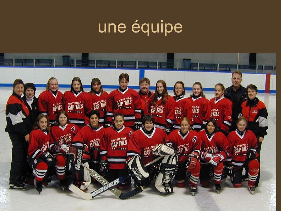 une équipe