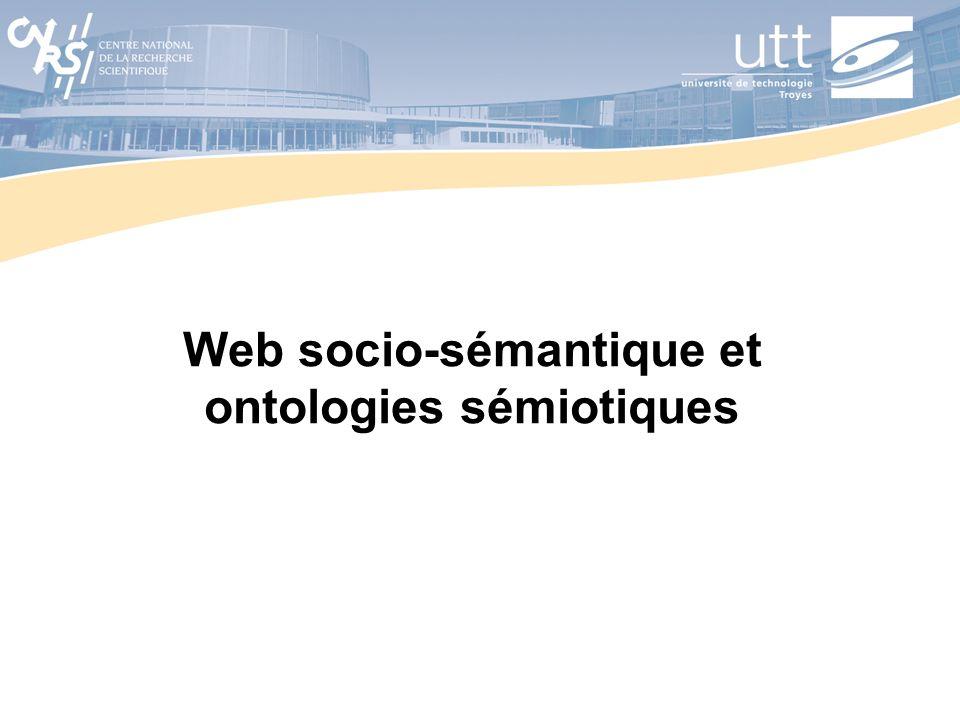 Web socio-sémantique et ontologies sémiotiques