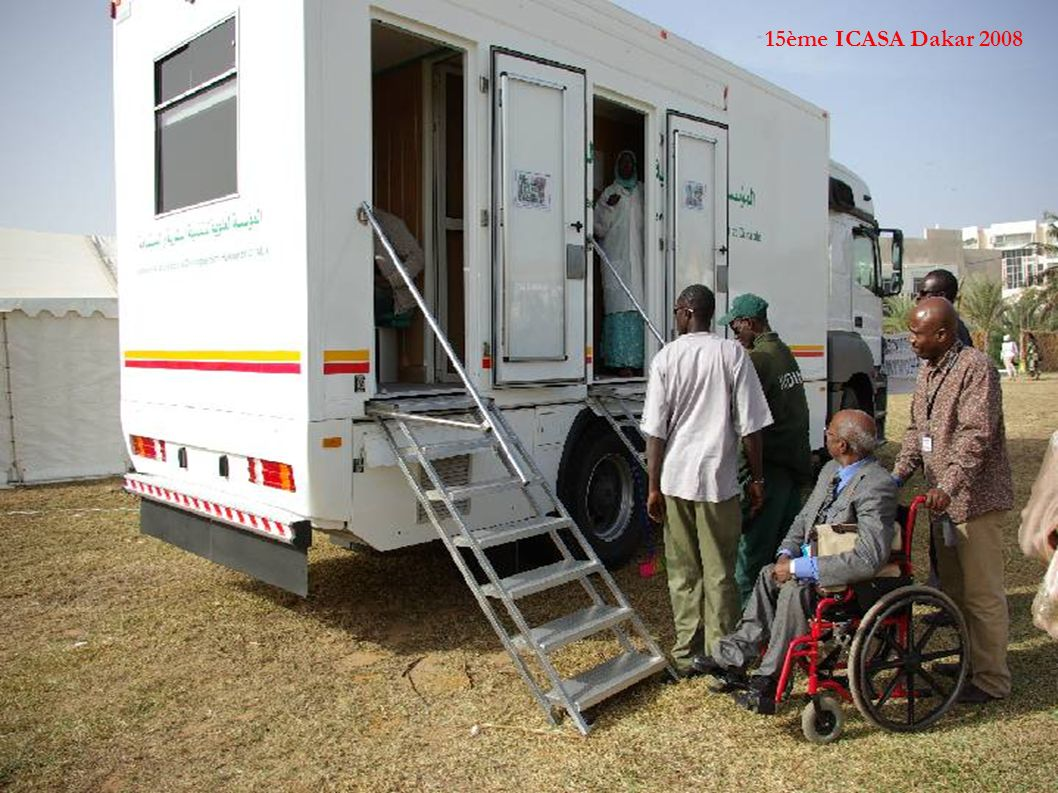 15ème ICASA Dakar 2008