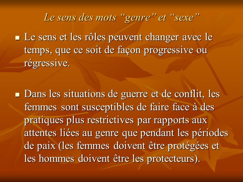 Violence basée sur le genre et violation des droits de la femme 2.