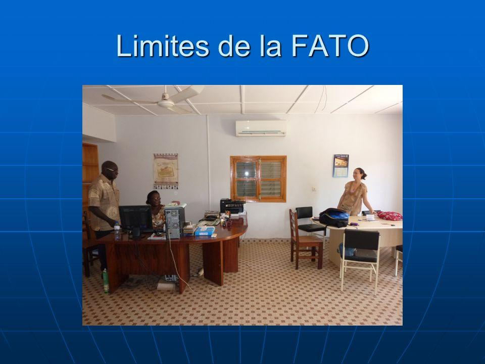 Limites de la FATO