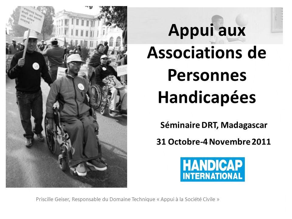 Handicap International et lAppui aux OPH
