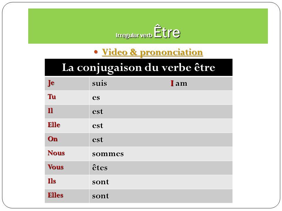 Irregular verb Aller prononciation & video Aller prononciation & video Aller prononciation & video Aller prononciation & video Aller Je vais Je vais T