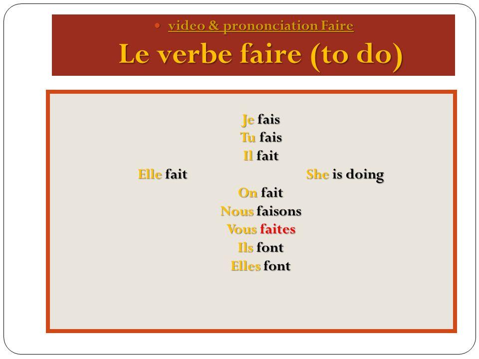 Irregular verb Avoir video & prononciation Avoir video & prononciation Avoir video & prononciation Avoir video & prononciation Avoir Jai Jai Tu as You