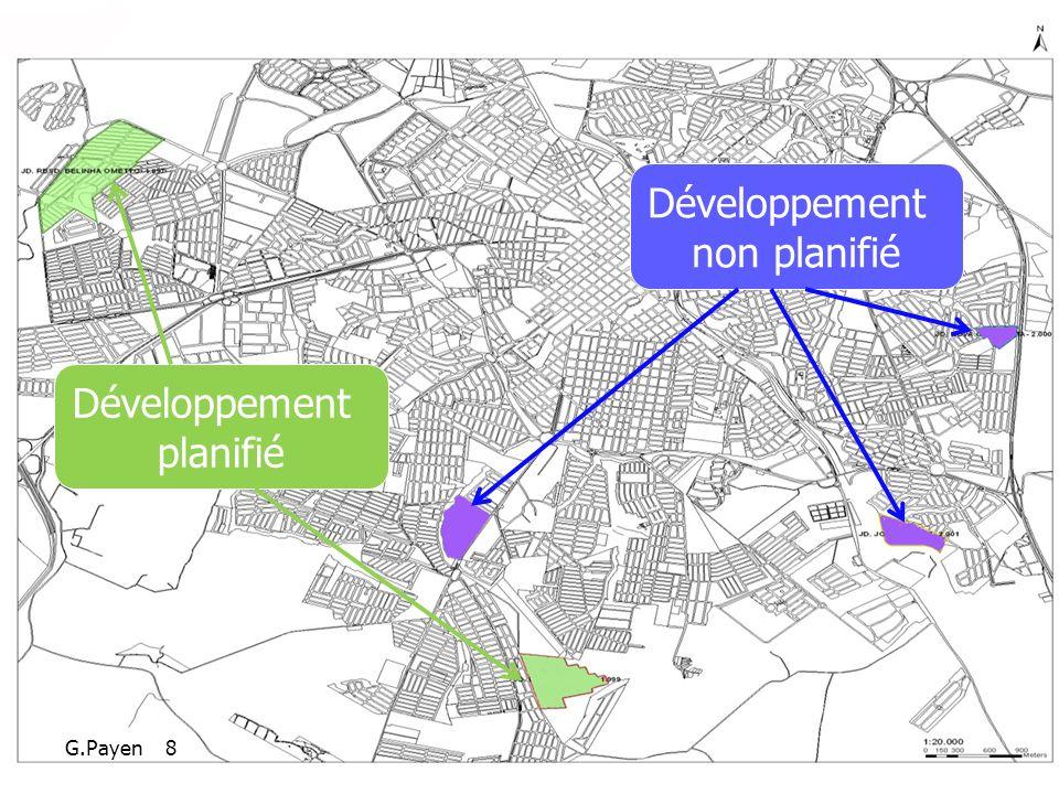 Développement planifié Développement non planifié G.Payen 8