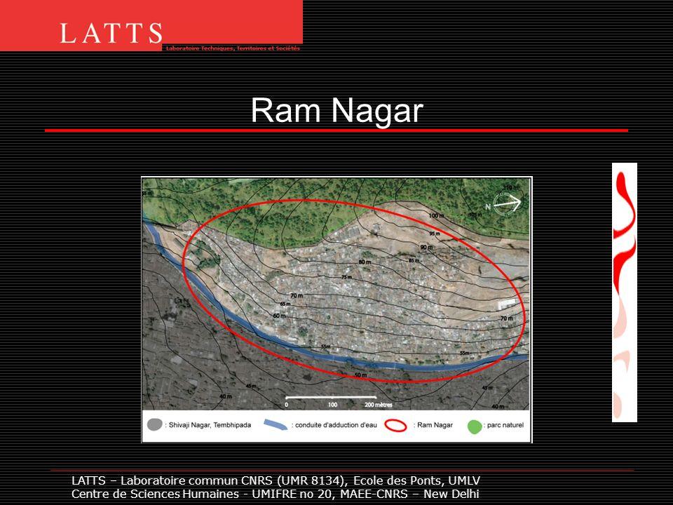 LATTS – Laboratoire commun CNRS (UMR 8134), Ecole des Ponts, UMLV Centre de Sciences Humaines - UMIFRE no 20, MAEE-CNRS – New Delhi Ram Nagar