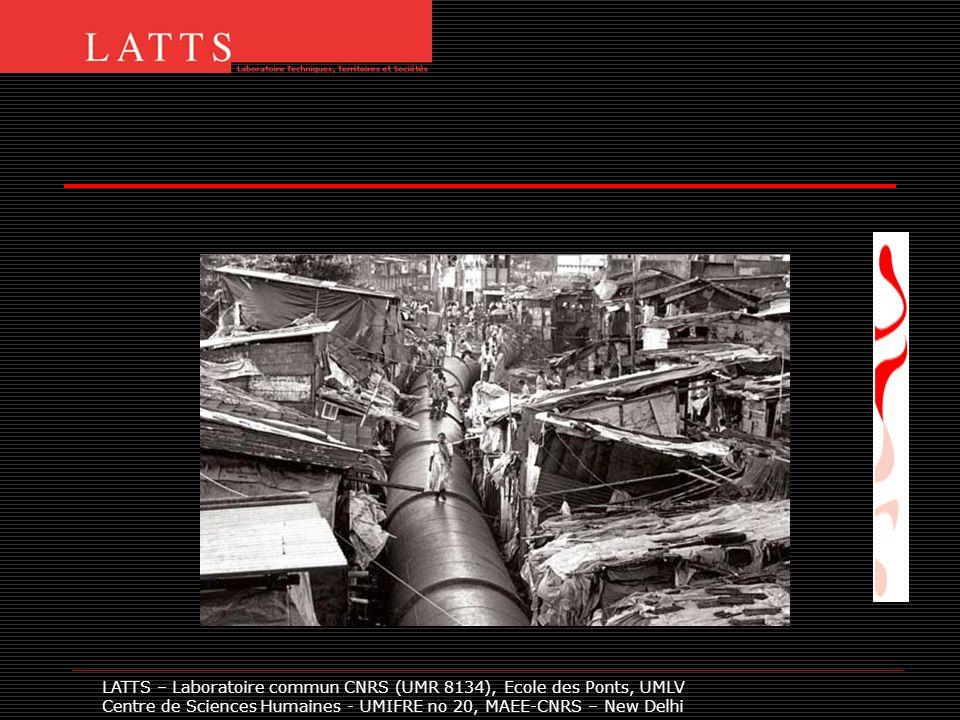 LATTS – Laboratoire commun CNRS (UMR 8134), Ecole des Ponts, UMLV Centre de Sciences Humaines - UMIFRE no 20, MAEE-CNRS – New Delhi Ram Nagar: Un quartier pauvre de 20 000 habitants, enclavé et situé entre 50 et 100 mètres daltitude