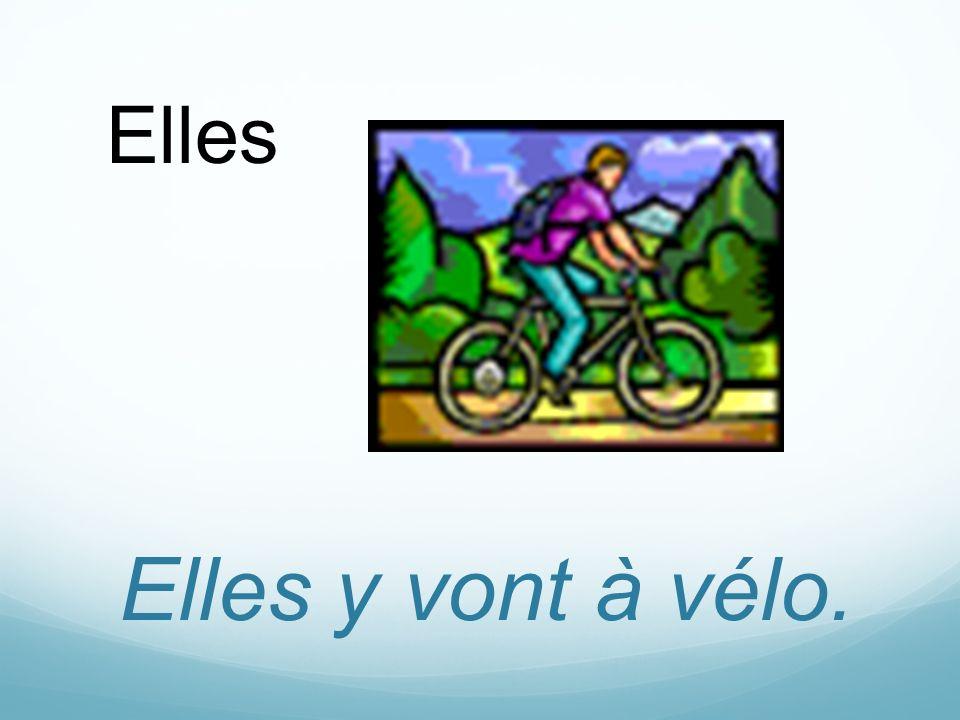 Elles y vont à vélo. Elles