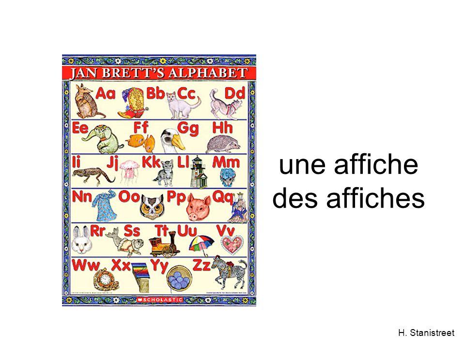 H. Stanistreet une affiche des affiches