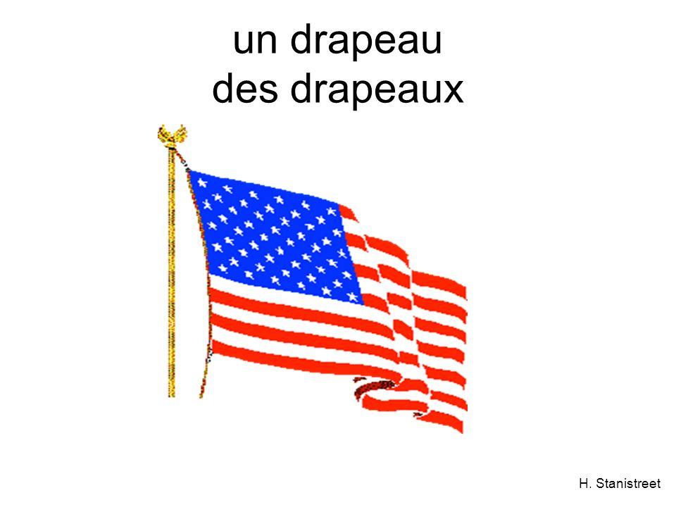 H. Stanistreet un drapeau des drapeaux