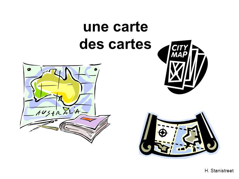 H. Stanistreet une carte des cartes