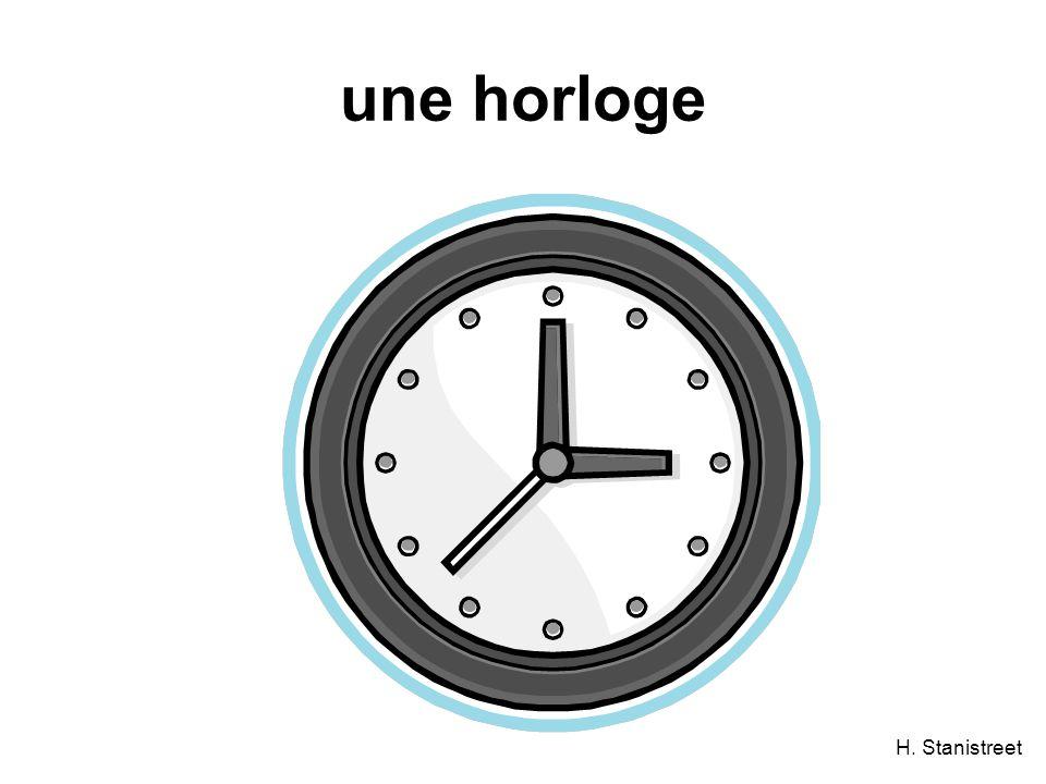 H. Stanistreet une horloge