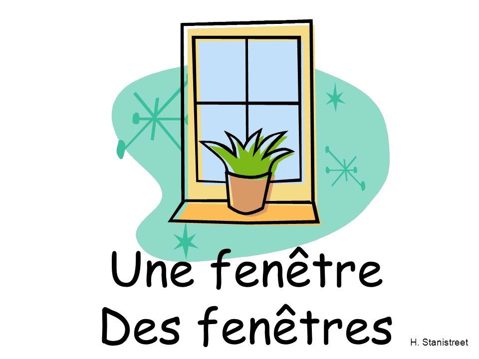 H. Stanistreet Une fenêtre Des fenêtres