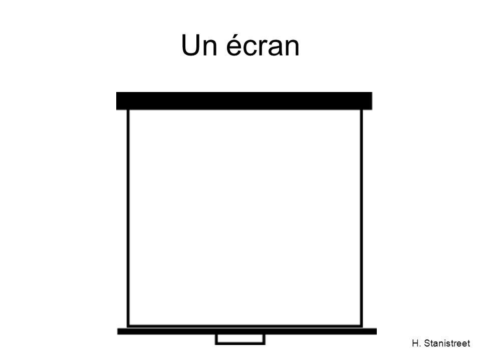 H. Stanistreet Un écran