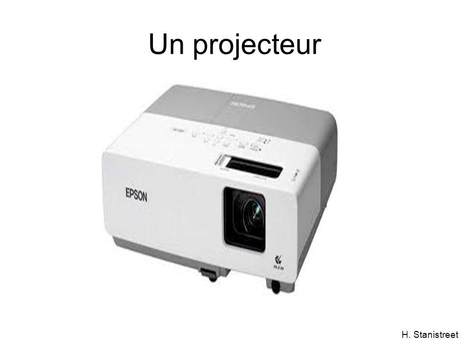 H. Stanistreet Un projecteur