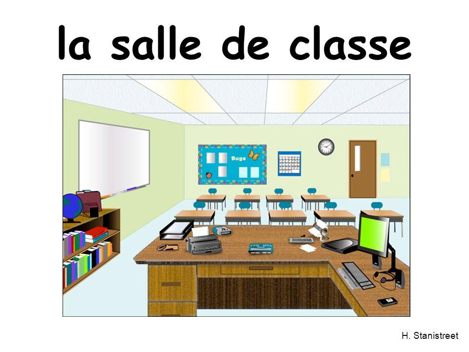 H. Stanistreet la salle de classe