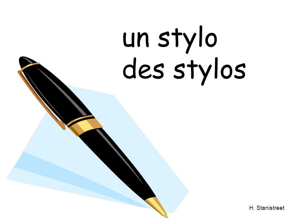 H. Stanistreet un stylo des stylos