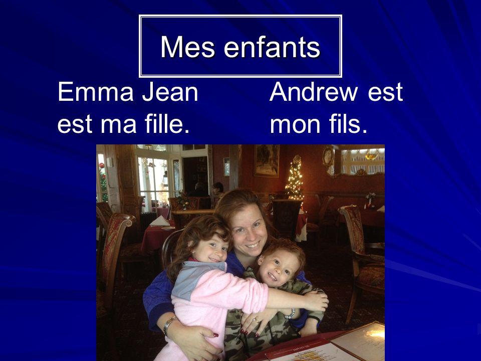 Emma Jean est la fille de Mme Schuster.Andrew est le fils de Mme Schuster.