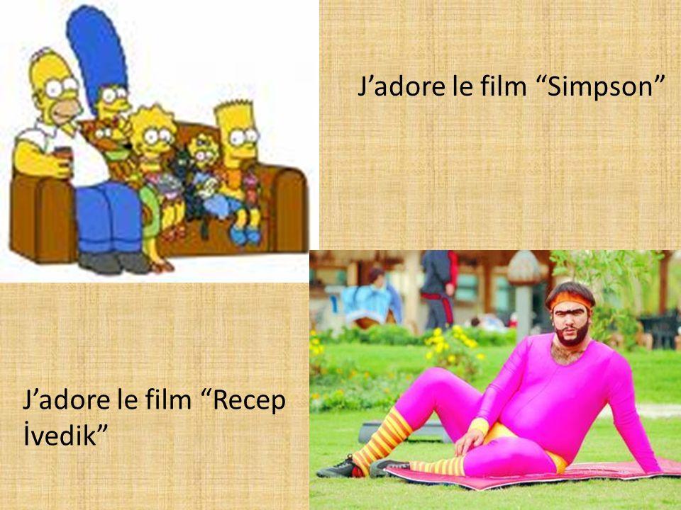 Jadore le film Simpson Jadore le film Recep İvedik