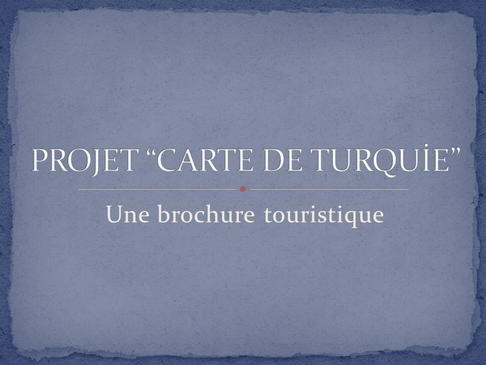 Une brochure touristique