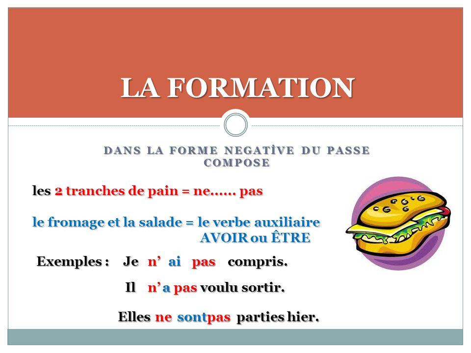 ACTIVITE PUZZLE : METTEZ DANS LORDRE EXERCICES Exemple : n / pas / Danton / venu / lAssemblée / est /à / hier.