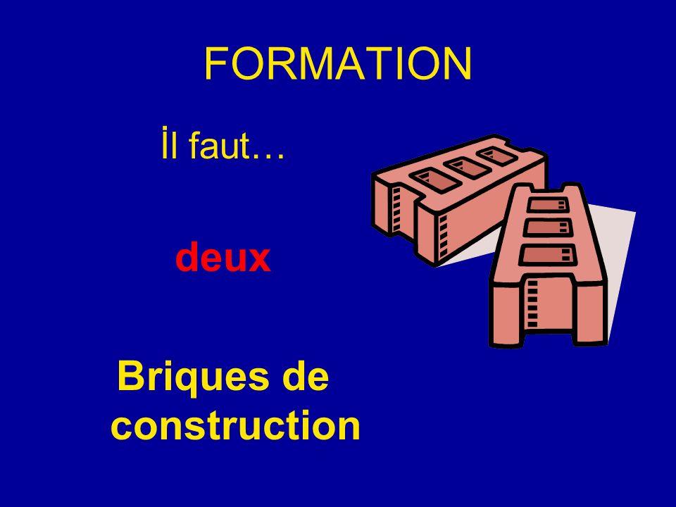 FORMATION İl faut… deux Briques de construction