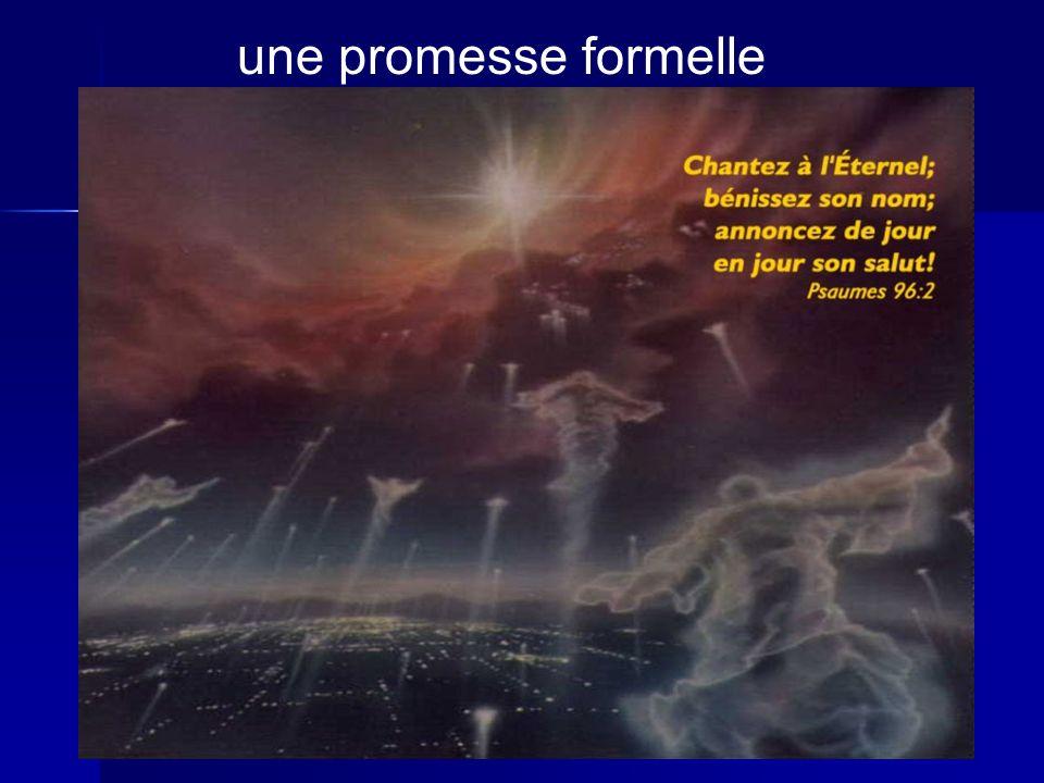 une promesse formelle