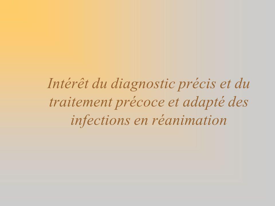 Dosage du LPS par le LAL en clinique Pathologies non septiques : –Cirrhose, transplantation hépatique, hépatite, pancréatite : nombreuses études +, gradient porto-systémique en LPS –Choc hémorragique –Chirurgie cardiaque ou vasculaire –Coureurs de marathon nauséeux … Translocation à partir du TD Pathologies septiques : –LPS + dans 20-40% des cas de sepsis –LPS + dans 20-55% des sepsis à BGN qqsoit site –LPS + dans 53-79% des bactériémies à BGN –Mais LPS également + dans 10-50% des bactériémies à CGP –Se = 50-55%, VPP = 40-50% pour bactériémie à BGN (Hurley, J Clin Microbiol 1994, Meta-analyse) Corrélation à loutcome : –OUI dans la méningococcémie ou bactériémies à BGN (OR 6.3) –PAS de corrélation sinon