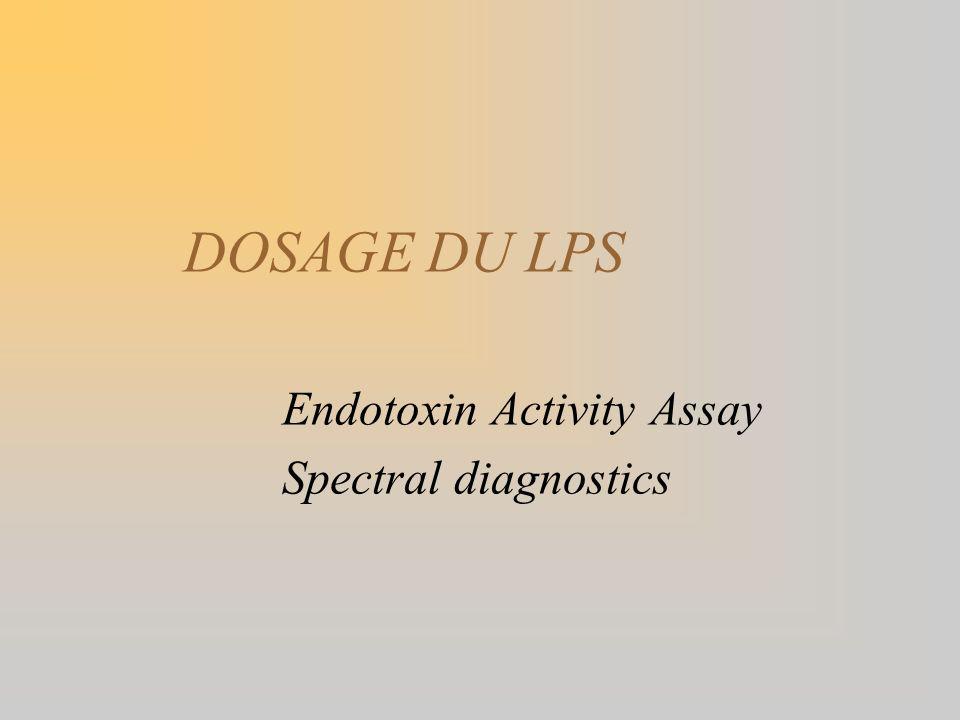 DOSAGE DU LPS Endotoxin Activity Assay Spectral diagnostics